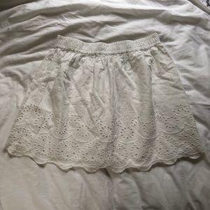 NWT H&M | Eyelet Skirt